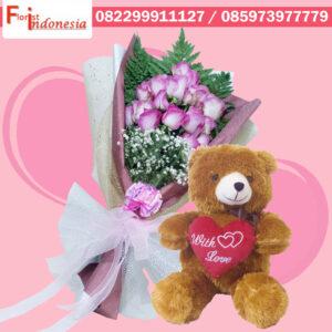 Toko Bunga Mawar Valentine Cibinong