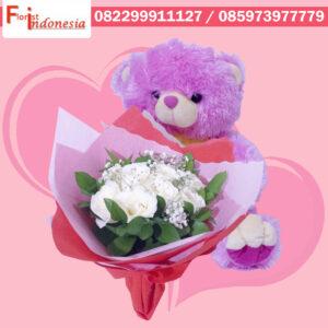 Toko Bunga Valentine di Beji