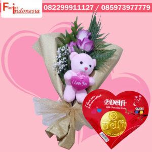 Toko Bunga Mawar Valentine di Citayam