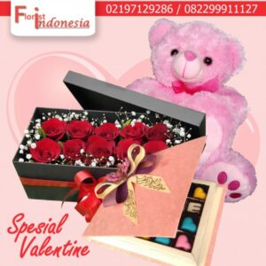 Toko Bunga Mawar Valentine di Jakarta Selatan