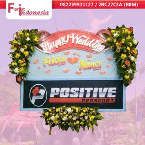 toko bunga happy wedding di surabaya | jnd-015