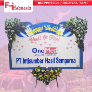 jual bunga happy wedding di surabaya | jnd-016
