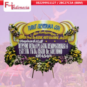 kirim bunga papan duka cita di Surabaya |  jnd-044