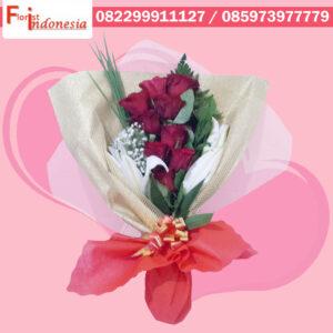 Toko Bunga Valentine di Pancoran Mas