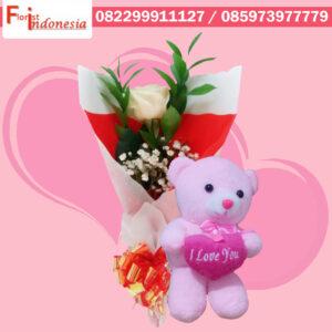Toko Bunga Valentine di Kelapa Dua
