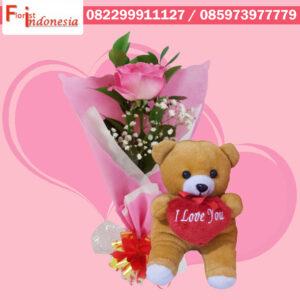 Toko Bunga Valentine di Karawaci