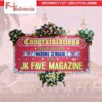 jual bunga papan congratulation di tasikmalaya jawa barat TSM -07 florist indonesia
