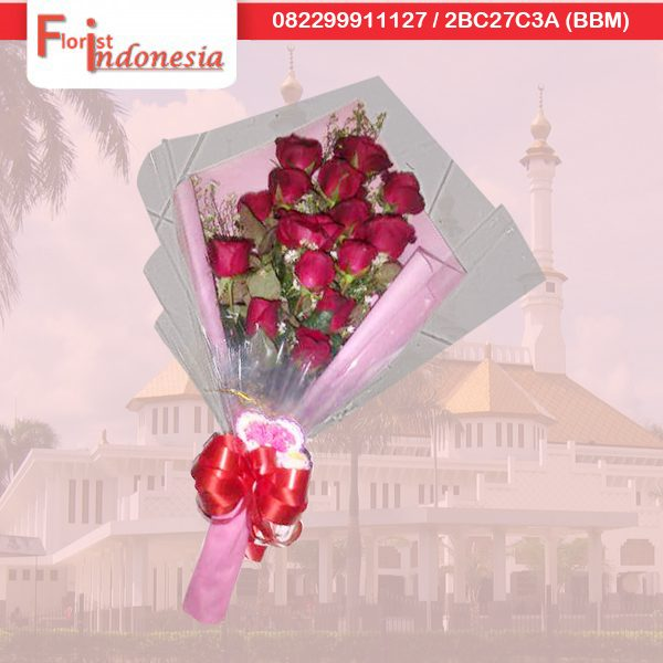 jual hand bouquet di tasikmalaya TSM - 02 florist indonesia