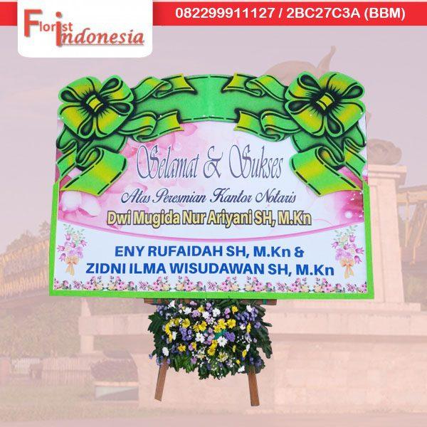 jual karangan bunga selamat dan sukses di samarinda TSM - 10 florist indonesia