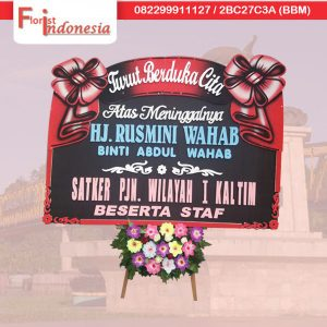 karangan bunga papan duka cita di kota samarinda kalimantan timur florist indonesia