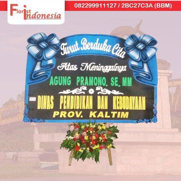 kirim karangan bunga papan duka cita di samarinda TSM - 11 florist indonesia