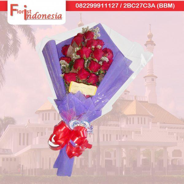 pesan bunga hand bouquet di tasikmalaya TSM HB - 03 florist indonesia