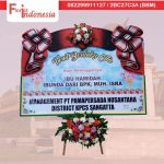 pesan bunga papan duka cita di samarinda TSM – 06 florist indonesia