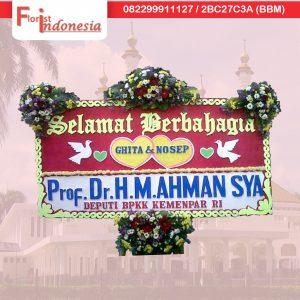 pesan bunga papan selamat dan sukses pengiriman ke tasikmalaya jawa barat TSM - 08 florist indonesia