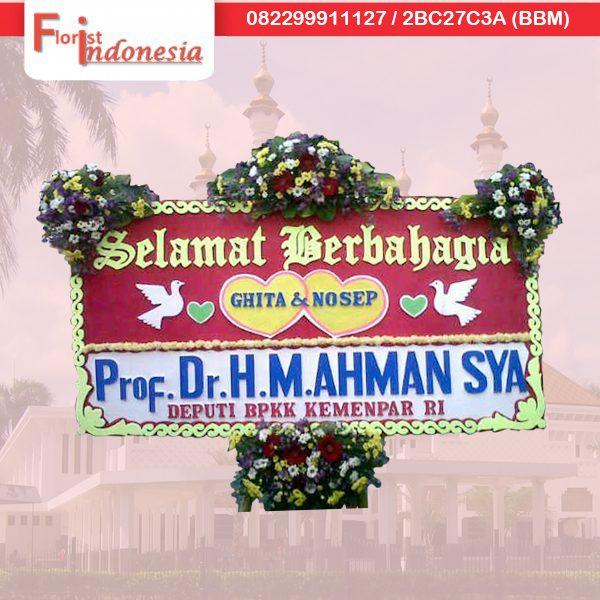 pesan bunga papan selamat dan sukses pengiriman ke tasikmalaya jawa barat TSM – 08 florist indonesia