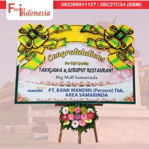 pesan karangan bunga papan congratulation di kota samarinda kalimantan timur TSM - 03 florist indonesia
