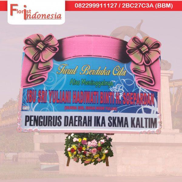 toko bunga papan duka cita di samarinda TSM -09 florist indonesia