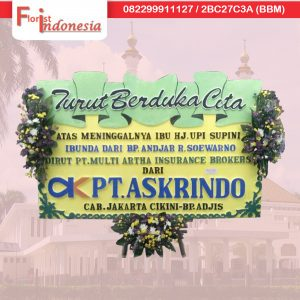toko bunga papan duka cita di tasikmalaya TSM -01 florist indonesia