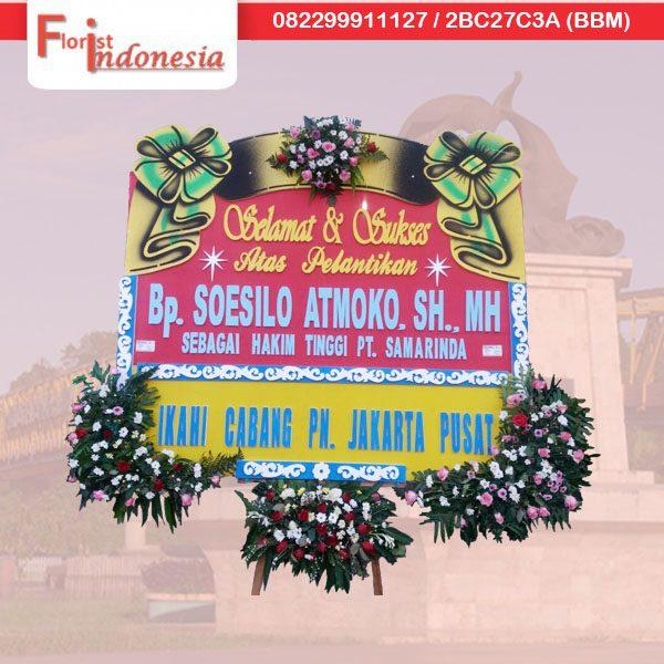 toko bunga papan happy wedding di samarinda TSM - 06 florist indonesia