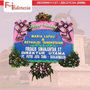 toko bunga papan pernikahan di samarinda SMR - 14 florist indonesia