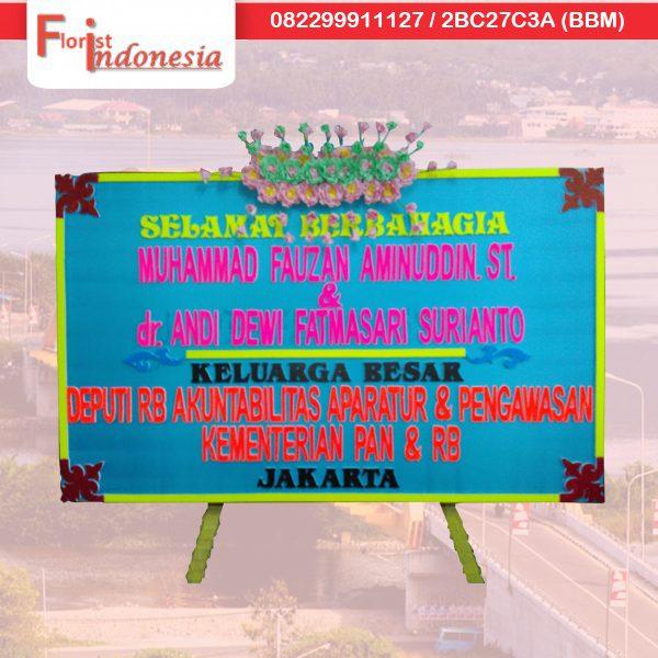toko bunga papan selamat berbahagia di palu PAL - 06 florist indonesia