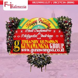 toko bunga papan happy wedding  di malang | https://www.floristindonesia.florist/