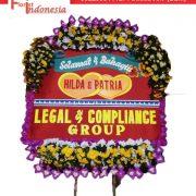 jual bunga papan wedding di solo florist indonesia