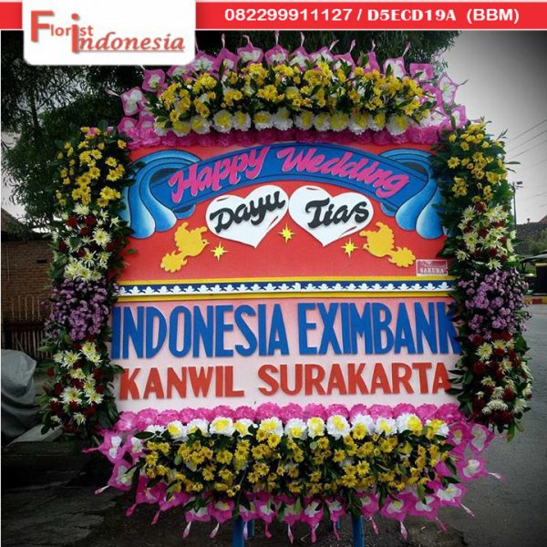 papan wedding solo florist indonesia