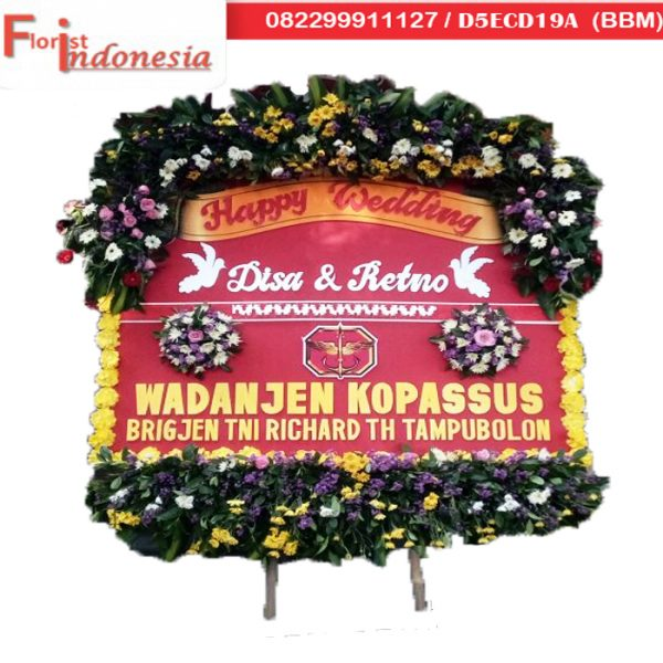 toko bunga papan wedding solo florist indonesia