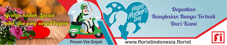banner hari ibu florist indonesia