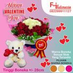 Toko Bunga Mawar Valentine di Margonda