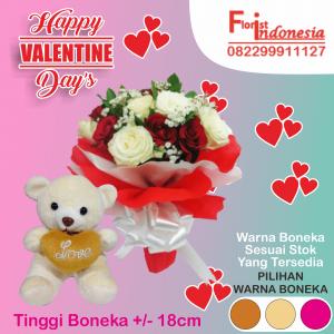 Toko Bunga Mawar Valentine di Jakarta Timur
