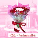 toko rangkaian bunga hand bouquet makassar