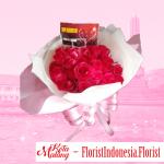 Bouquet mawar murah di malang
