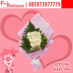 buket bunga mawar hari ibu