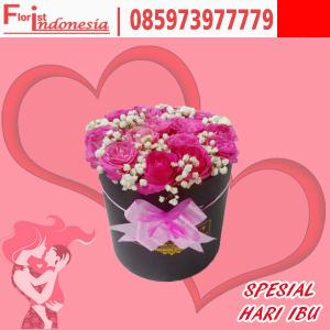 Bloom Box bunga mawar untuk hari ibu