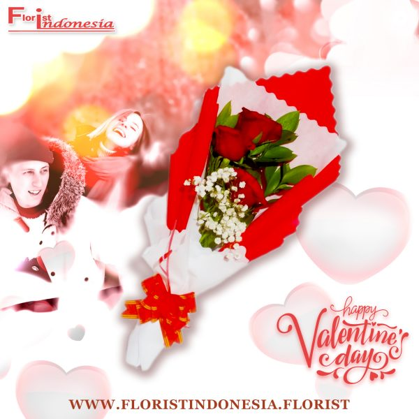 Bouquet Valentine Bunga Mawar Murah