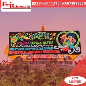 Bunga Papan Pernikahan Lampung LMP-010
