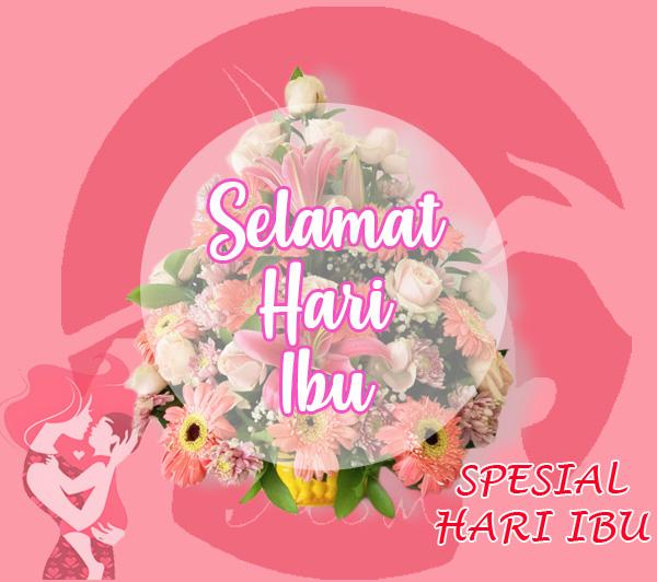 Hadiah Bunga Untuk Hari Ibu di Jakarta