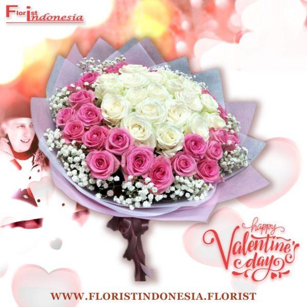 Bouquet Mawar Valentine Val HBP-001