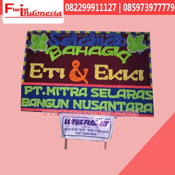 Bunga Papan Wedding Bengkulu FBKW-001