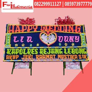 Bunga Papan Wedding Bengkulu FBKW-003