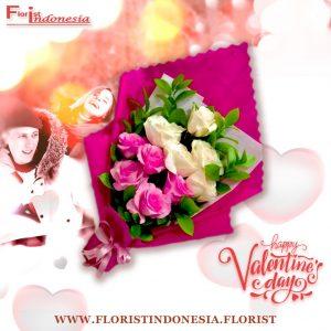 Bouquet Mawar Valentine Val HBL-002