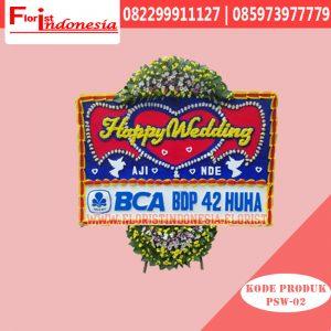 Karangan Bunga Papan Wedding Bogor