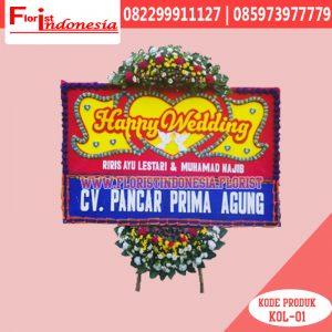 Karangan Bunga Papan Wedding Depok