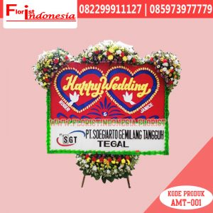 Karangan Bunga Papan Wedding Jakarta