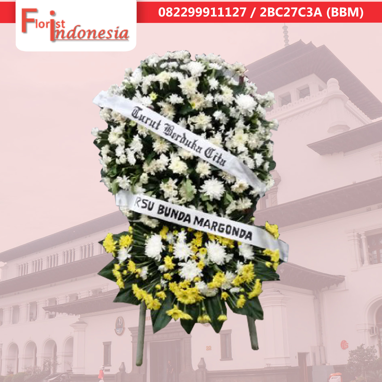 Contoh Bunga Krans Jakarta 082299911127 Florist Indonesia 082299911127