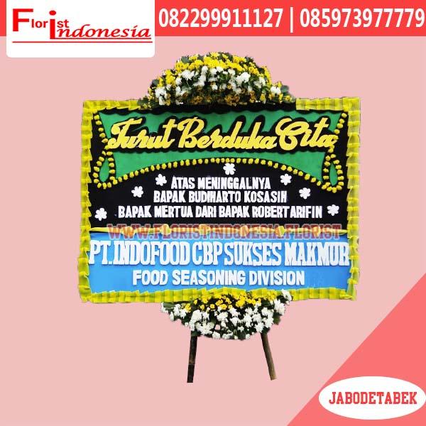 Bunga Papan Duka Cita Jakarta Selatan FJKTD-008
