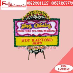 Karangan Bunga Papan Wedding Bekasi FJKTW-004