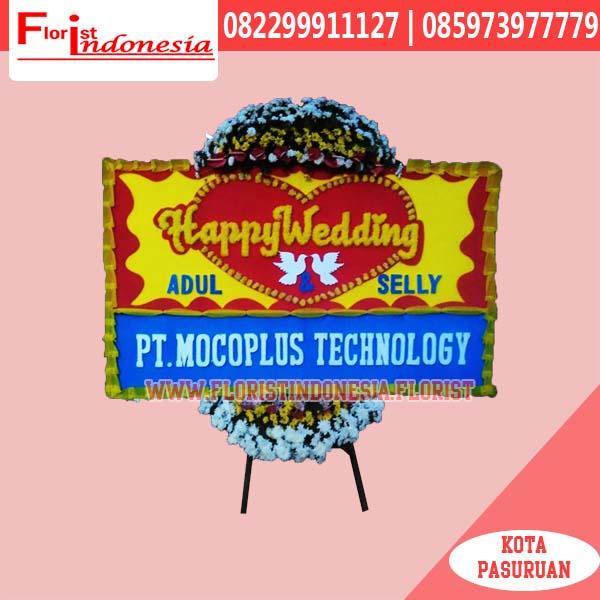 Karangan Bunga Papan Wedding Depok FJKTW-003